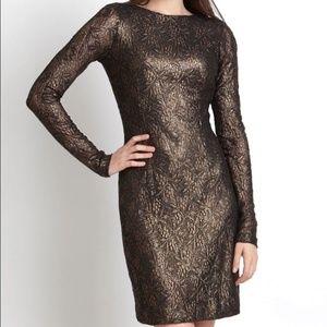 Cocktail Dress Size 4 Bronze